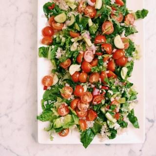 GoodFoodWeek's brown rice salad