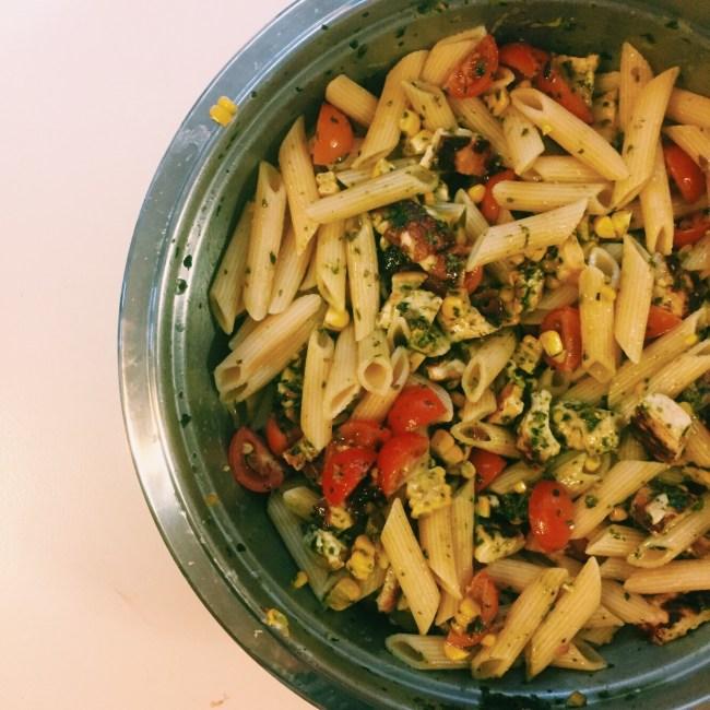 Recipe: Vegetarian Summer Pasta
