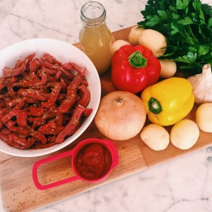Recipe: Spanish Style Beef