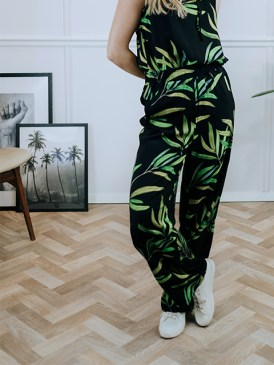 Alchemist-olive-print-pants