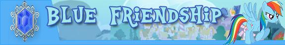 Blue friendship