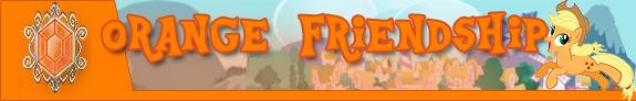 Orange friendship