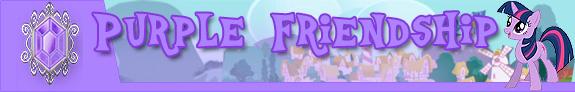 Purple friendship
