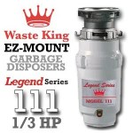 Waste King Legend Series 1/3 HP Continuous  L-111 Review