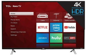 Gifts for CordCutters - Roku 4K TV