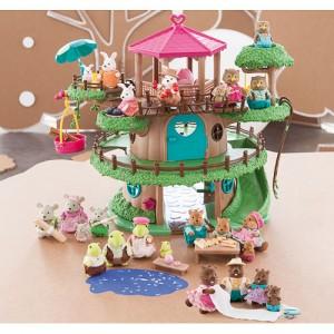 Camomille boomhut-miniatuurdieren_Camomille Treehouse_Imaginarium_origineel kinderspeelgoed