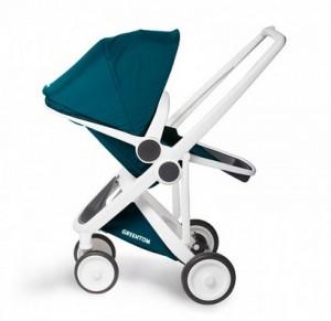 Greentom reversible petrol_sustainable stroller_ duurzaamheid_cradle to cradle_ groene kinderwagen_Dutch design