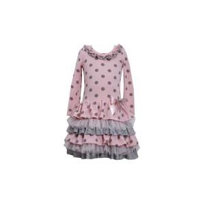 bonnie-jean-set-jurkje-penelope-zilveren-maillot_Hippe kerstkkleding voor meisjes_feestjurkjes_webwinkels met party dresses