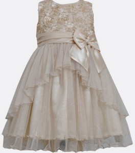 Bonnie Jean Golden Diva Dress_Bonnie Jean Giuliana dress_kerstjurkjes meisjes_babyjurkjes met tule_feestkleding