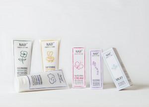 NAÏF babycare-natuurlijke babyverzorging-pure babyverzorging-baby allergisch voor Zwitsal
