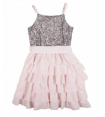 Rumbl feestkleding_communiekleding_communiejurken_mooie jurken voor meisjes_roze jurkje
