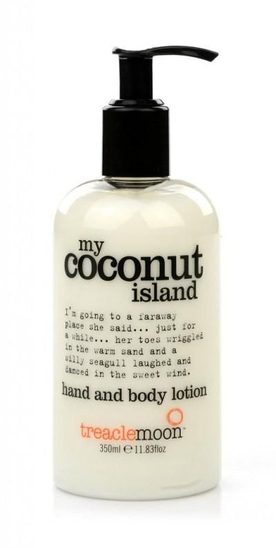 Treacle Moon hand and body lotion-My coconut island-GoodGirlsCompany