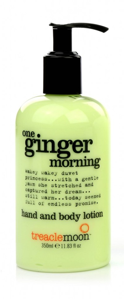Treacle Moon hand and body lotion-One ginger morning-GoodGirlsCompany