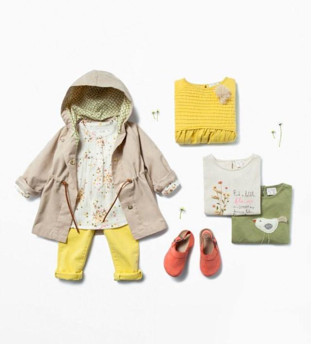 Zara Babymeisjes zomercollectie 2015_plisse jurk
