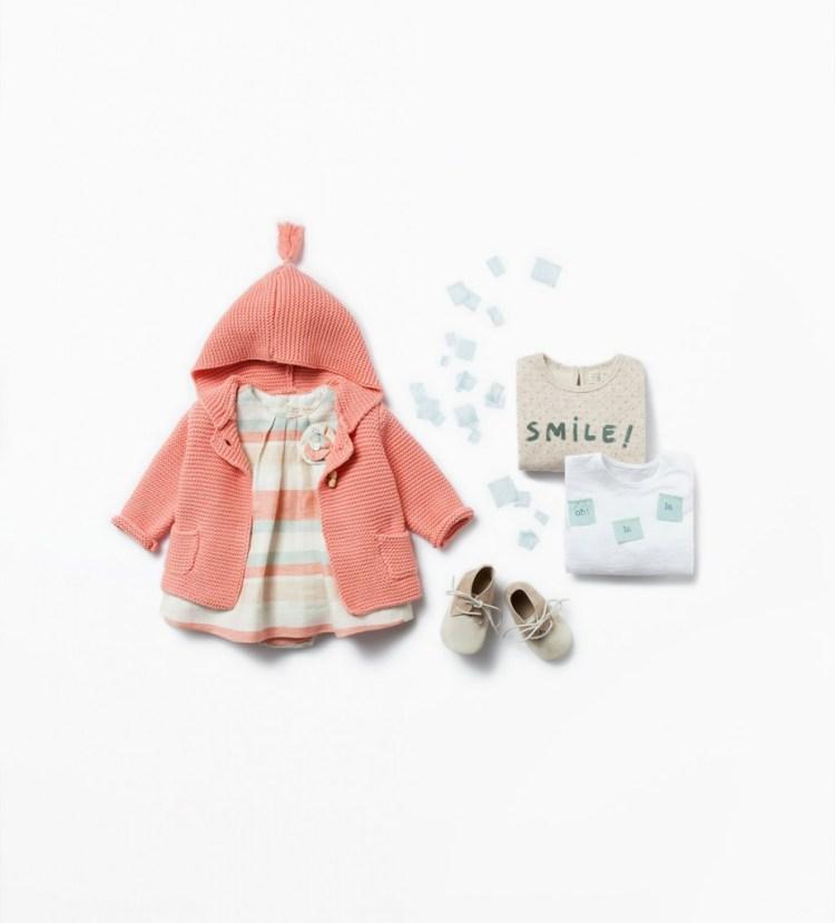 Zara Mini zomercollectie 2015_ jas met cappuchon