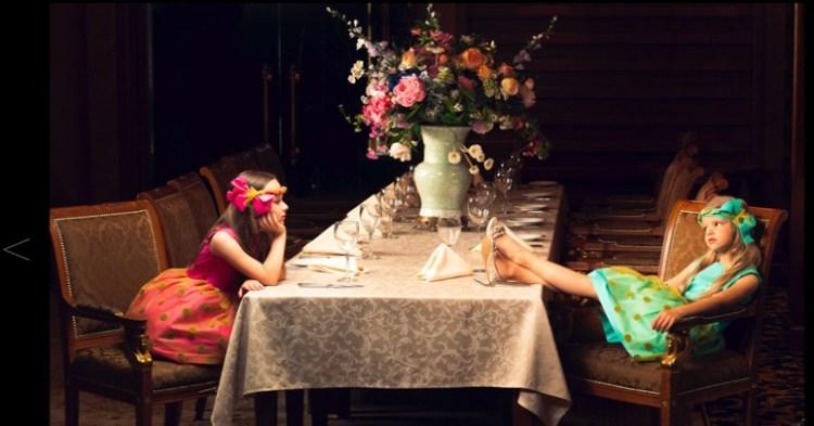 Lazy Francis-feestelijke jurken voor meiden-meisjesjurken