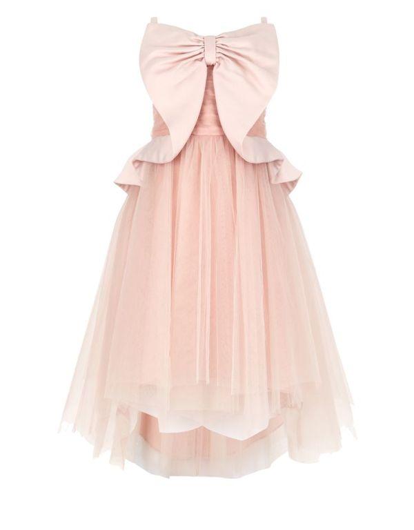 Monsoon Beau Dress-bruidmeisjes-communie-jurken voor meisjes