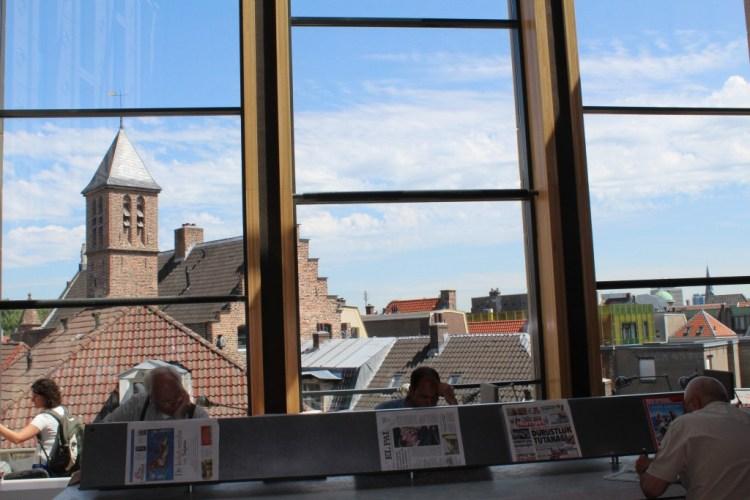MamaChallenge2015-Rozet- Arnhem-GoodGirlsCompany-bibliotheek Arnhem-studeren in de bieb
