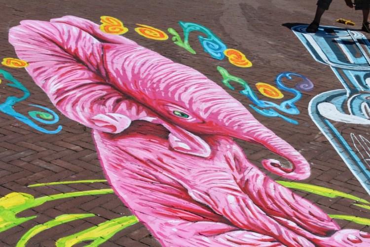 Mamachallenge-World Street painting Festival-GoodGirlsCompany-Van Gogh