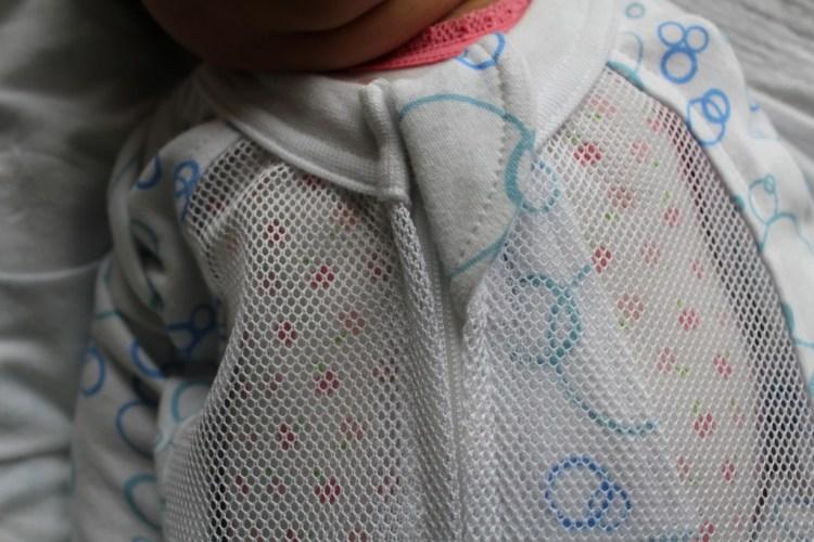 Inbakerzak voor in de zomer-inbakeren-Mum2Mum Dream swaddles-onrustige baby