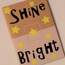shine bright notebook