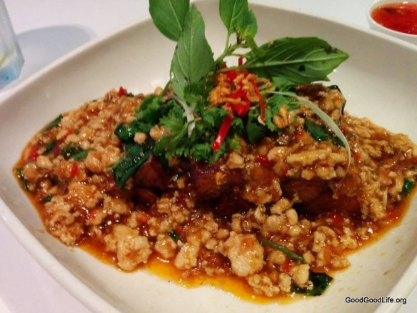 EggPlant with Chicken Minced Meat