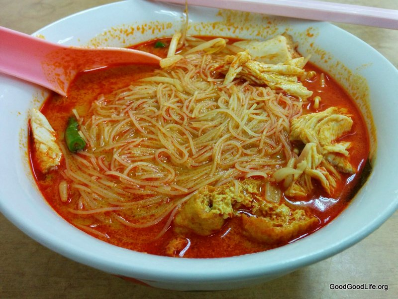This is probably One of The Best Curry Mee of PJ @Sunway Mas