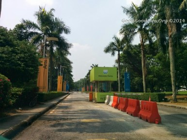 Entrance to KLPAC