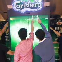 The Carlsberg Friendtastic Vending Machine