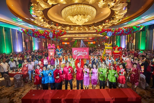 Carlsberg CNY Prosperity Begins With A POP