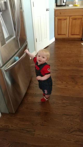 My sweet Mason
