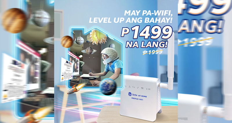 Globe At Home Prepaid WiFi now at ₱1499 only! | Good Guy Gadgets
