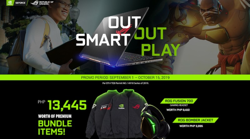 Look Fly and Live the Wireless Gaming Lifestyle with the ROG x NVIDIA® OutSmart, Out Play Promo! | Good Guy Gadgets