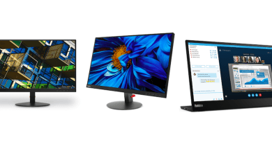 Lenovo delivers exceptional display with new ThinkVision monitors | Good Guy Gadgets