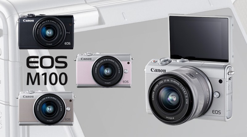 The compact and stylish Canon EOS M100 just got more affordable! | Good Guy Gadgets