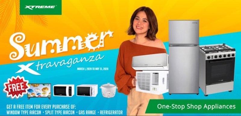 Take home amazing freebies when you purchase select XTREME appliances this summer | Good Guy Gadgets