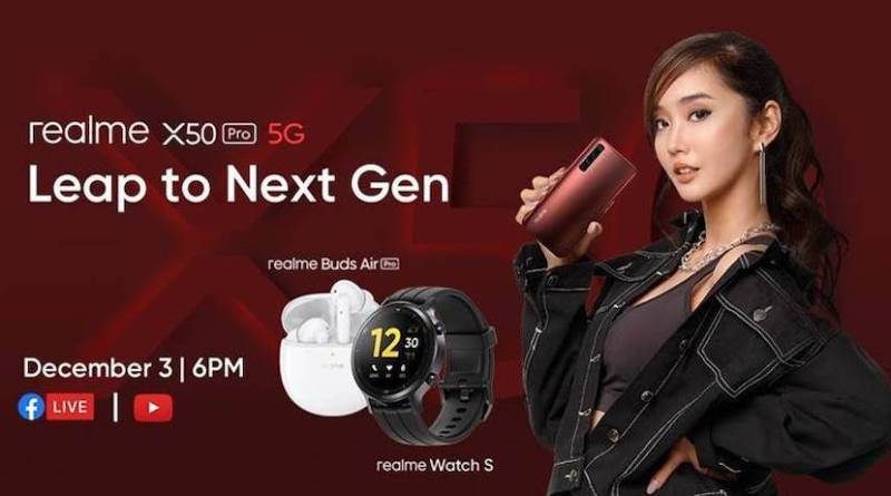 Speed of the Future: realme X50 Pro 5G to launch via Smart Signature Plan on December 3 | Good Guy Gadgets