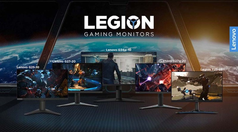 Conquer the battlefield with Lenovo Legion's new value-for-money gaming monitors | Good Guy Gadgets