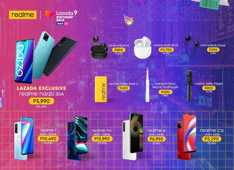 realme launches narzo 30A in the PH, exclusively available on Lazada at a discounted price of P5,990 | Good Guy Gadgets