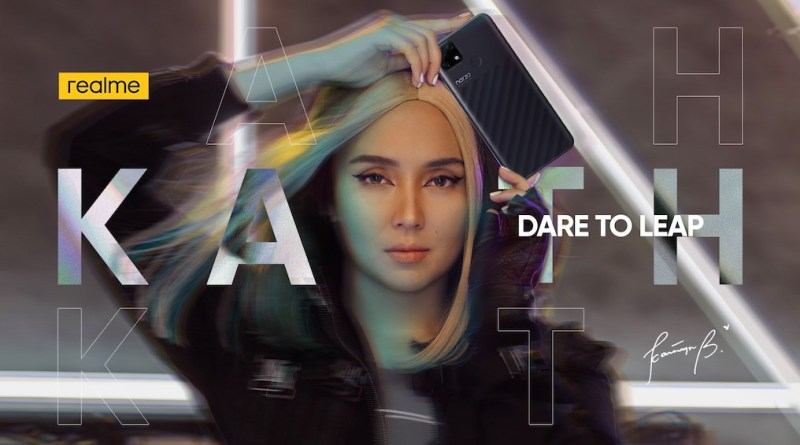"Kathryn Bernardo embodies realme's ""Dare to Leap"" attitude as the celebrity brand ambassador 