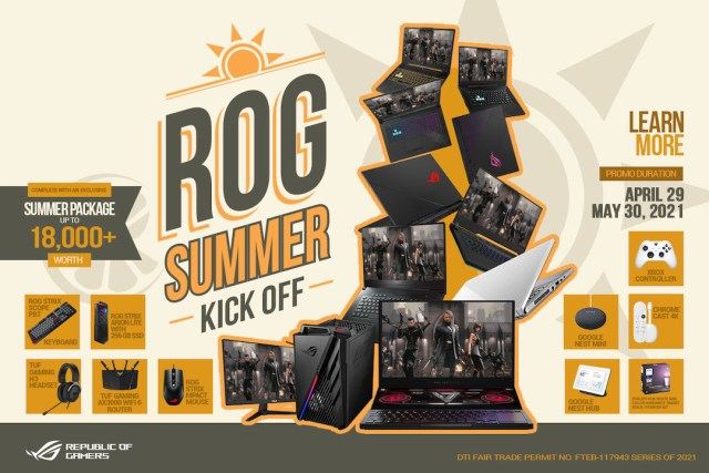 Make it a summer to remember with the ASUS and Republic of Gamers Summer Kick-Off Promo   Good Guy Gadgets