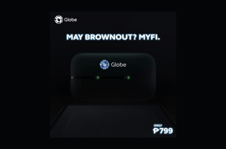 Power outage? Brownout? Stay connected with Globe At Home Prepaid MyFi LTE and LTE-A | Good Guy Gadgets