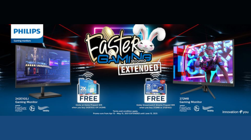 The Philips Gaming Monitors Easter Gaming Promo extended until June 15! | Good Guy Gadgets
