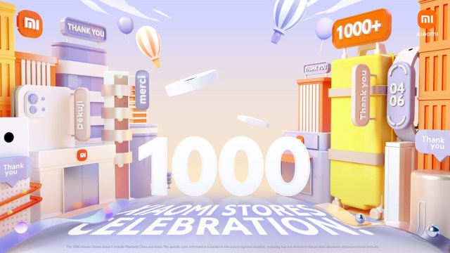 Xiaomi celebrates 1000 Xiaomi Stores Event with Mi Fans across the world | Good Guy Gadgets