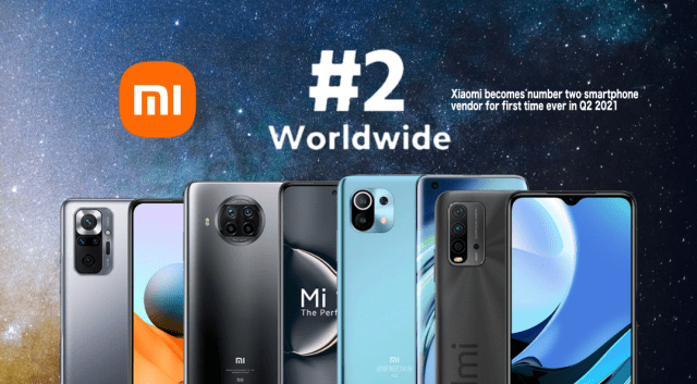 Xiaomi takes second spot in global smartphone market, outranks Apple   Good Guy Gadgets