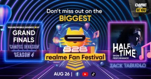 realme Fan Fest celebration continues with RMC Grand Finals; Zack Tabudlo to headline half-time show | Good Guy Gadgets