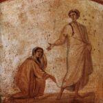 Healing_of_a_bleeding_women_Marcellinus-Peter-Catacomb