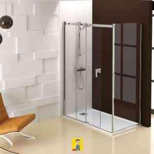 mampara de ducha modelo Ebro 1