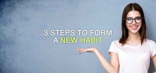3 steps to form a new habit
