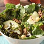 ENSALADA DE MANZANA CON GARBANZO Y NUEZ 2 - Ensalada de Manzana con Garbanzo y Nuez - Receta de Comida para Diabéticos